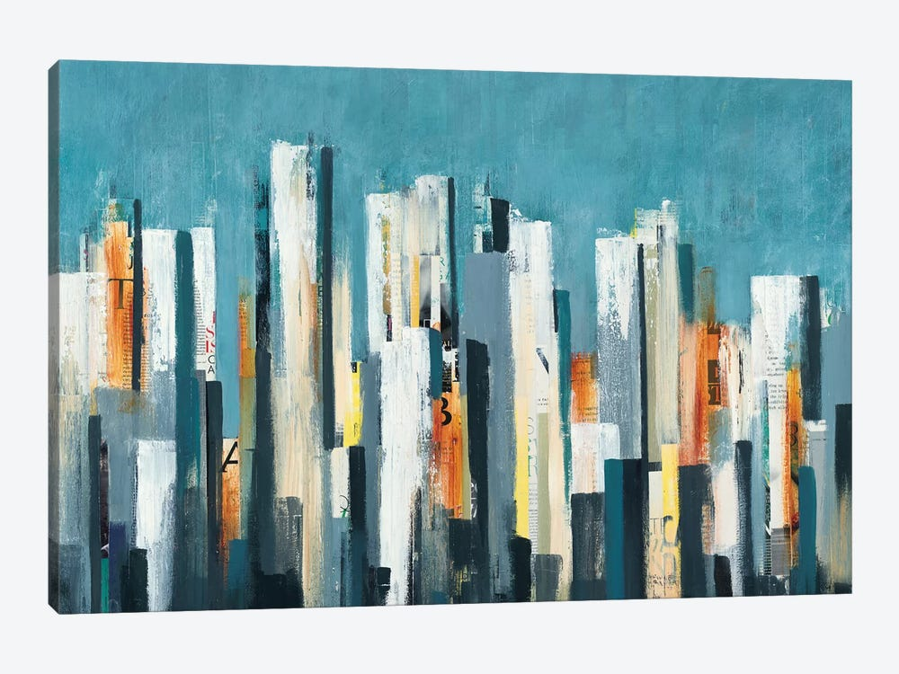 Urban Play by Lisa Ridgers 1-piece Art Print