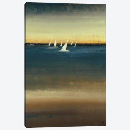 Water's Edge I Canvas Print #LRI74} by Lisa Ridgers Canvas Art Print