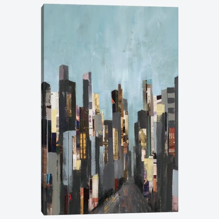 City Beat Canvas Print #LRI79} by Lisa Ridgers Canvas Wall Art