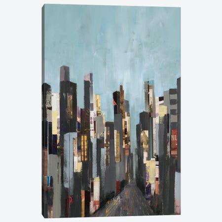 City Beat Canvas Print #LRI79} by Lisa Ridgers Canvas Wall Art