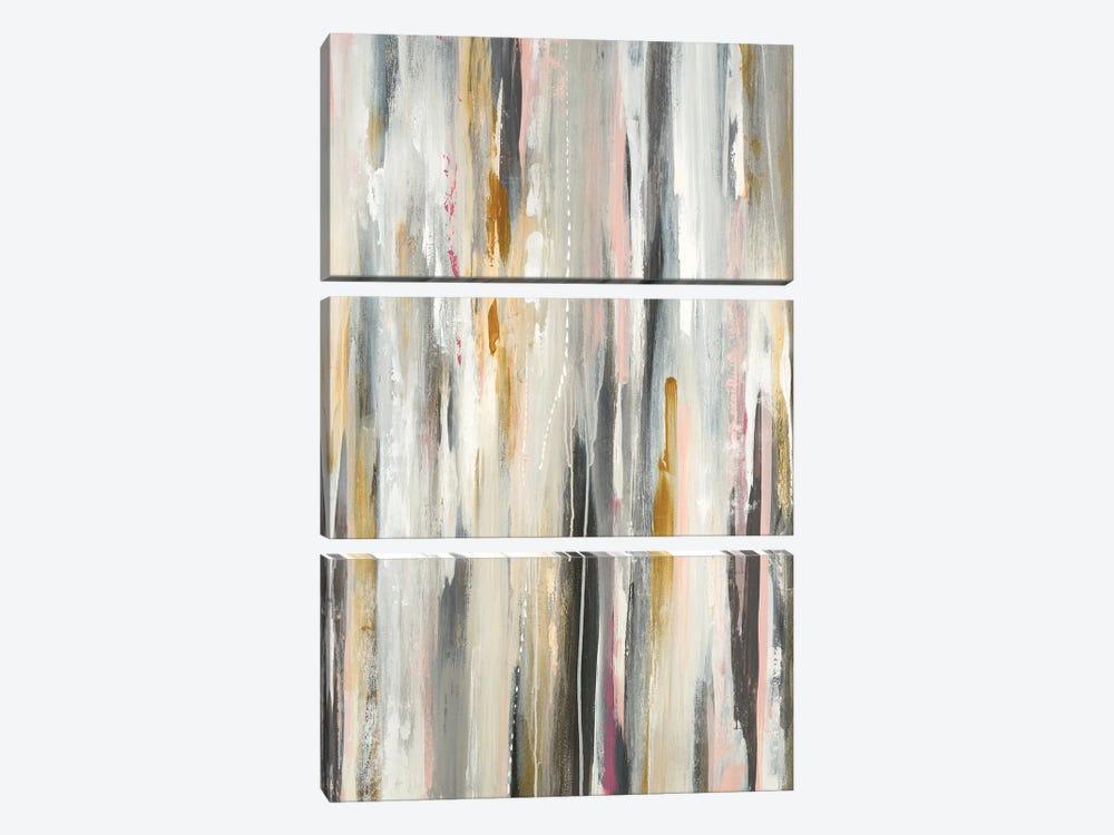 Colored Ripple II by Lisa Ridgers 3-piece Canvas Wall Art