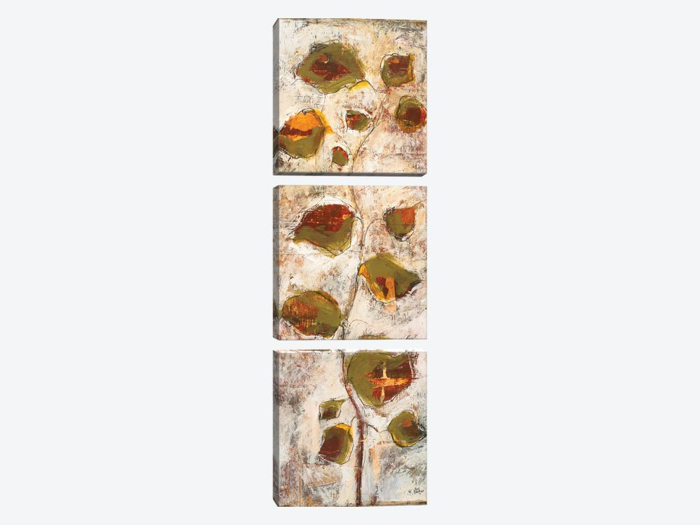 Abstract Scape II by Lisa Ridgers 3-piece Canvas Print