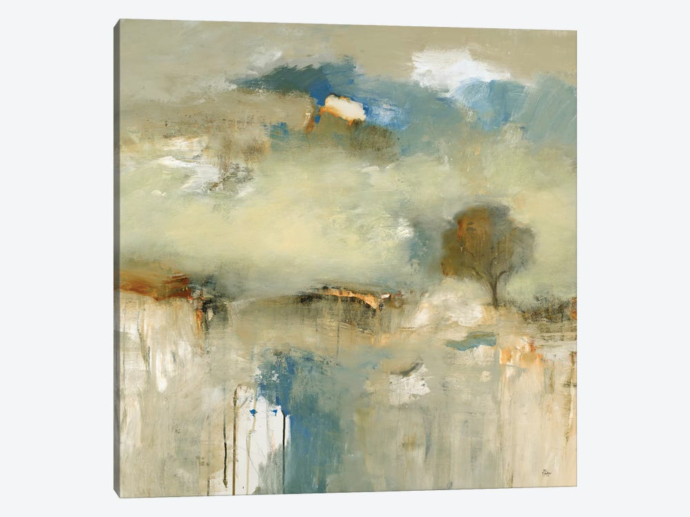 Abstracted Landscape III by Lisa Ridgers 1-piece Canvas Wall Art