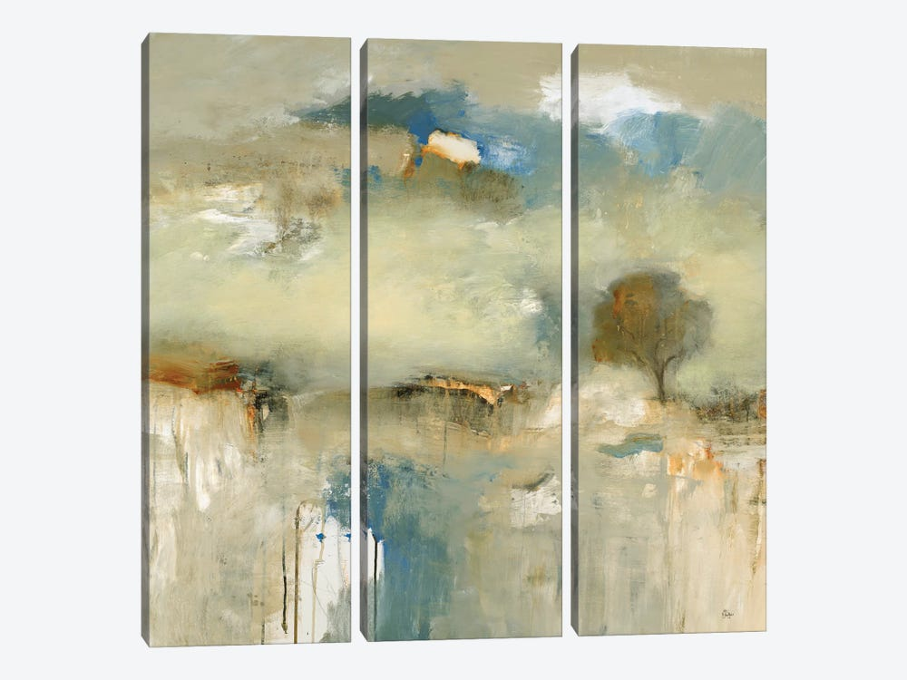 Abstracted Landscape III by Lisa Ridgers 3-piece Canvas Art