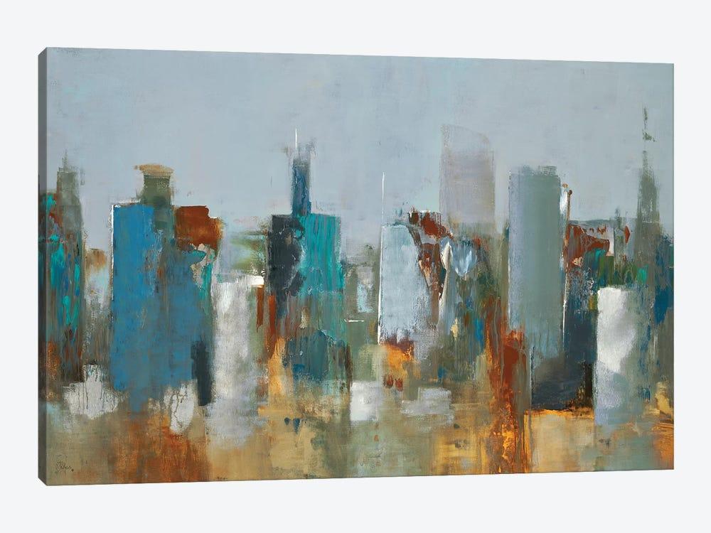 Cityscape by Lisa Ridgers 1-piece Canvas Print