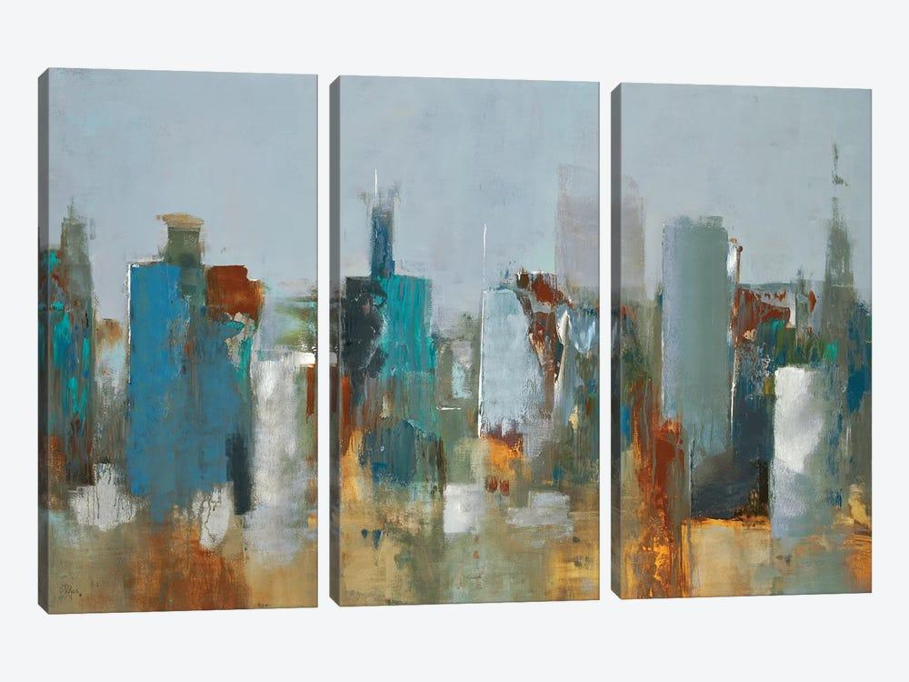 Cityscape by Lisa Ridgers 3-piece Art Print