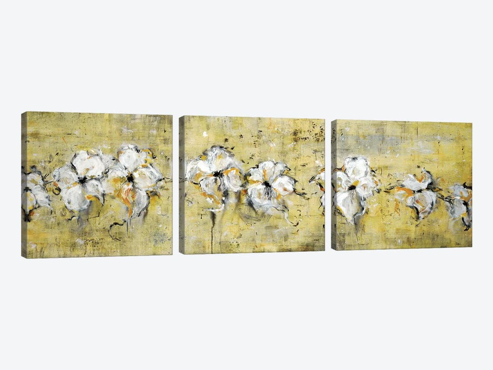 Floral Connection 3-piece Canvas Artwork