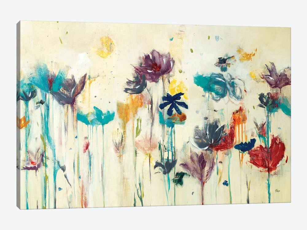 Floral Splash by Lisa Ridgers 1-piece Canvas Art