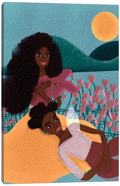 Sisters Canvas Art Print