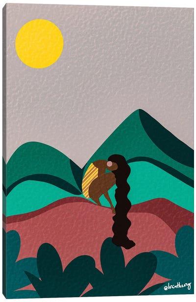 Mountains Canvas Art Print