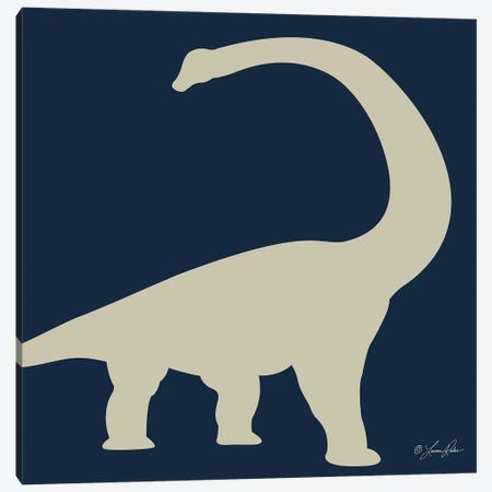 Dino II    Canvas Print #LRN3} by Lauren Rader Art Print