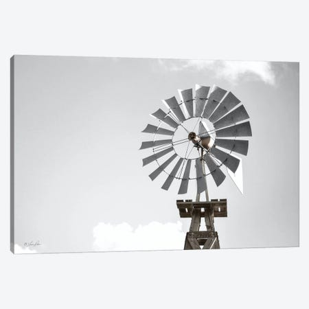 Windmill    Canvas Print #LRN4} by Lauren Rader Canvas Art