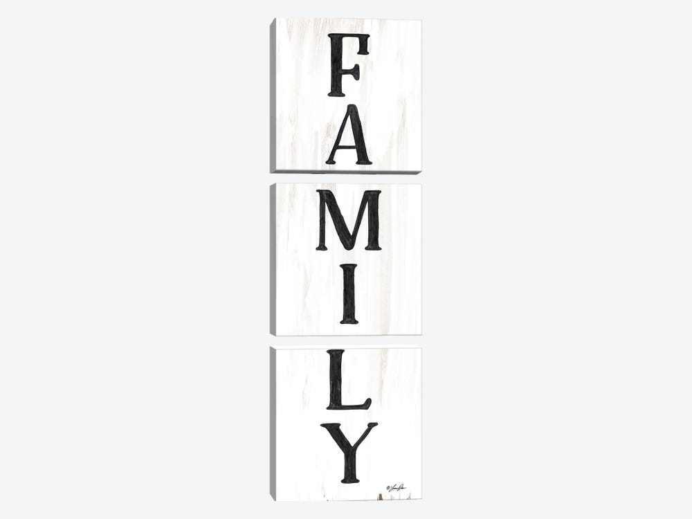 Family by Lauren Rader 3-piece Canvas Print