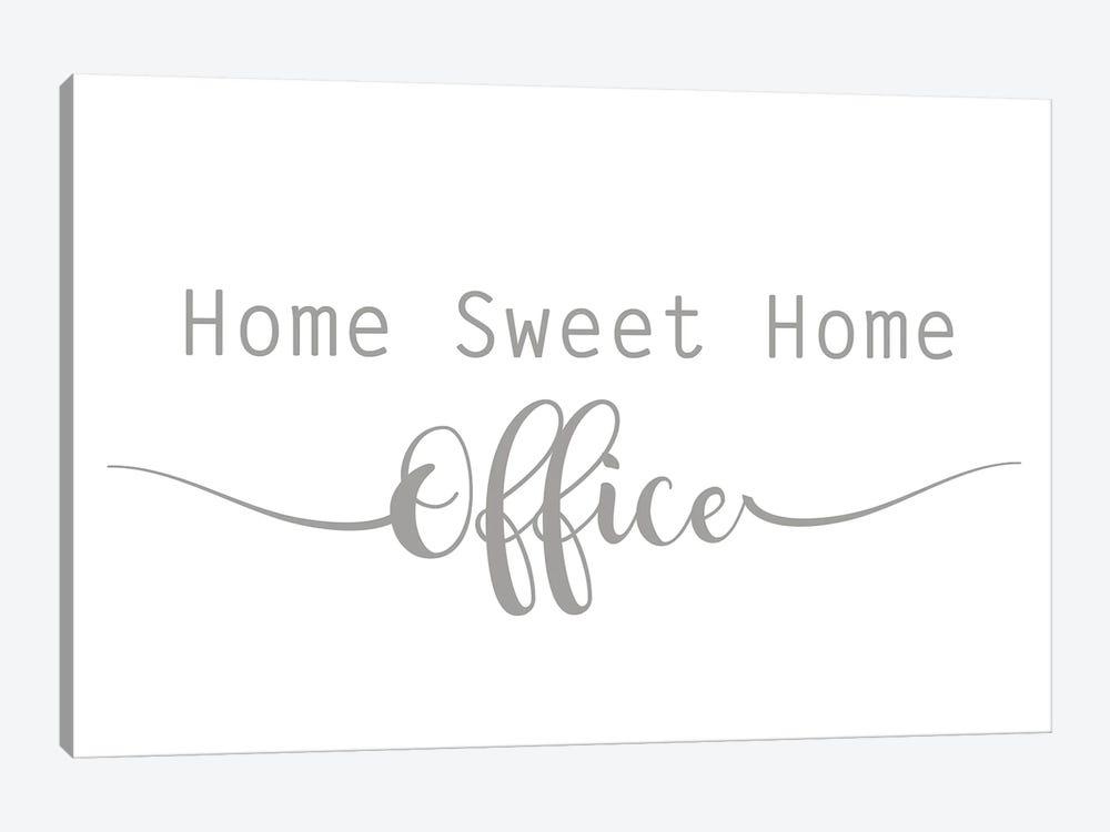 Home Sweet Home Office by Lauren Rader 1-piece Canvas Artwork