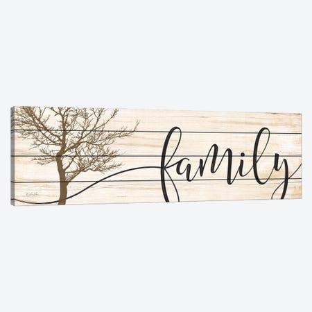 Family Canvas Print #LRN9} by Lauren Rader Art Print