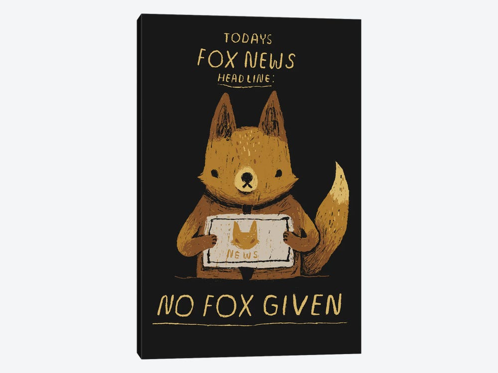 Fox News by Louis Roskosch 1-piece Art Print