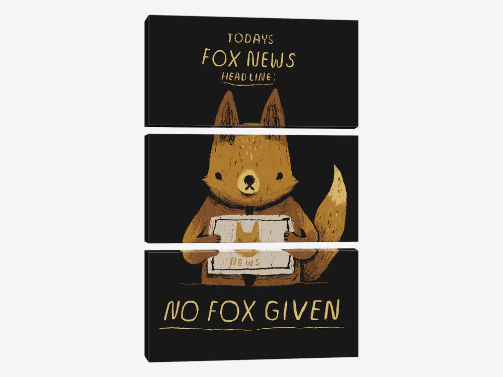 Fox News 3-piece Canvas Print