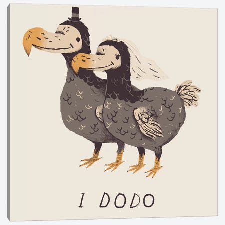 I Dodo Canvas Print #LRO23} by Louis Roskosch Canvas Print