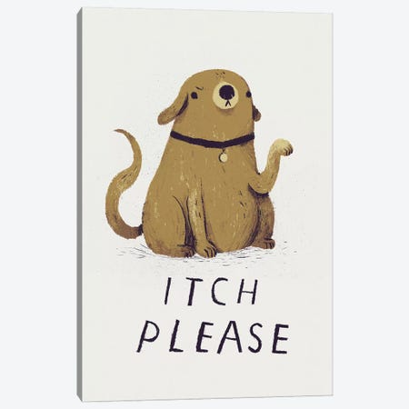 Itch, Please Canvas Print #LRO26} by Louis Roskosch Canvas Wall Art