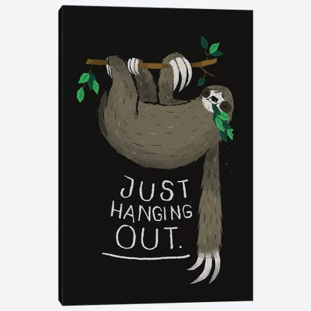 Just Hanging Out Canvas Print #LRO28} by Louis Roskosch Art Print