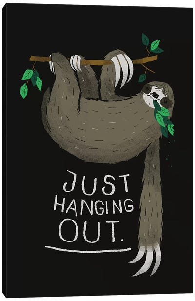 Just Hanging Out Canvas Art Print