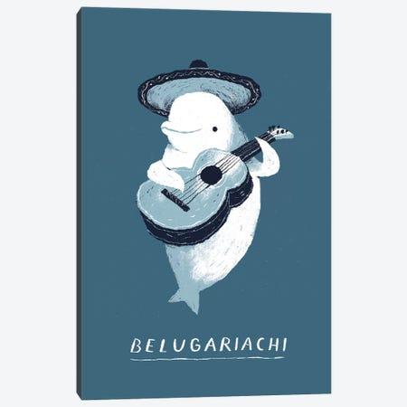 Beluga Canvas Print #LRO2} by Louis Roskosch Canvas Artwork