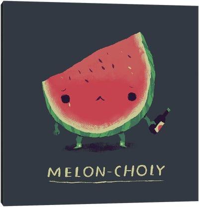 Melon Canvas Art Print