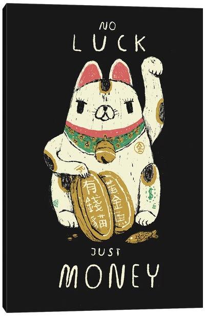 Money Cat Canvas Art Print