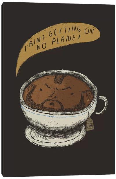 Mr. Tea Canvas Art Print