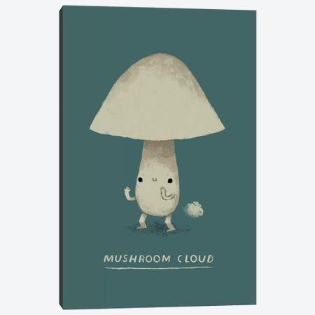 Mushroom Cloud Canvas Print #LRO38} by Louis Roskosch Canvas Art