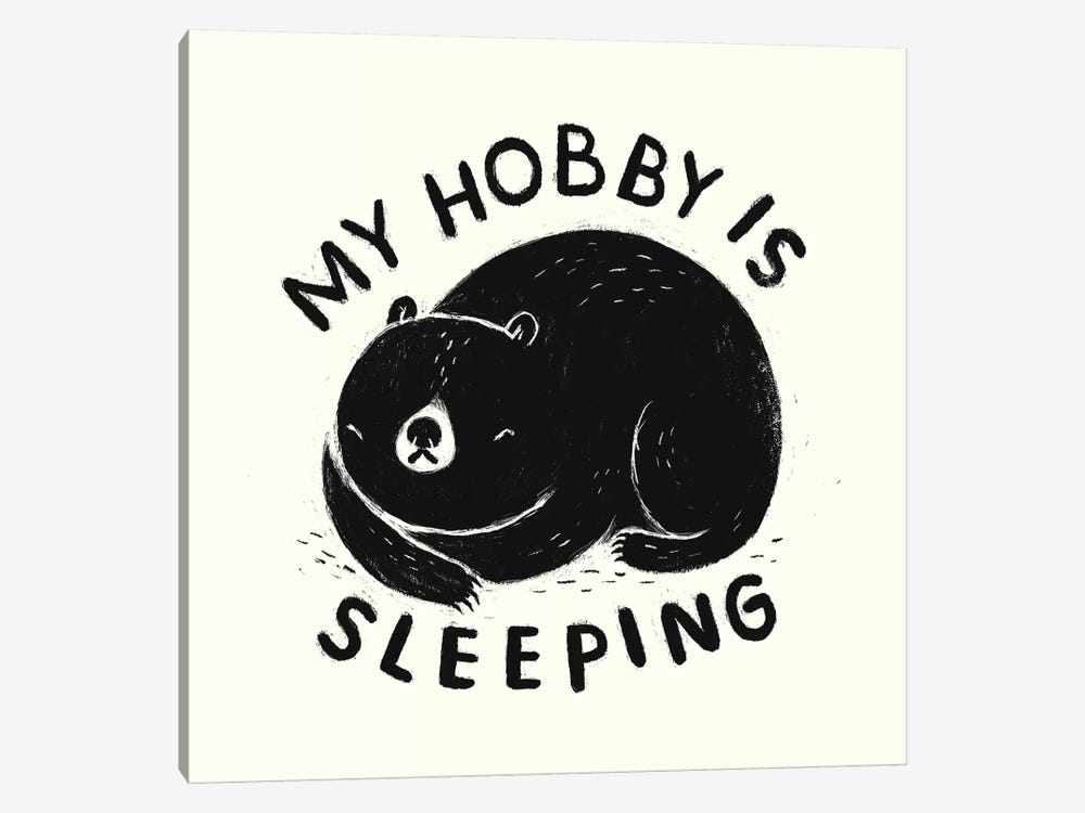 My Hobby Is Sleeping by Louis Roskosch 1-piece Canvas Wall Art