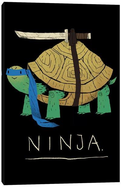 Ninja Blue Canvas Art Print