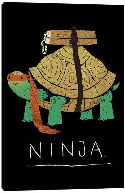 Ninja Orange Canvas Art Print