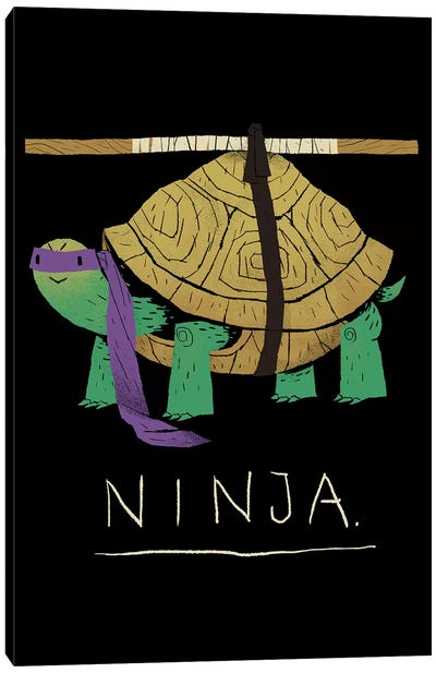 Ninja Purple Canvas Art Print