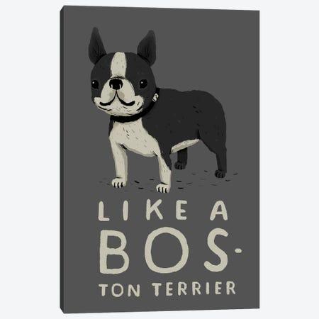 Bos-ton Canvas Print #LRO4} by Louis Roskosch Canvas Art Print