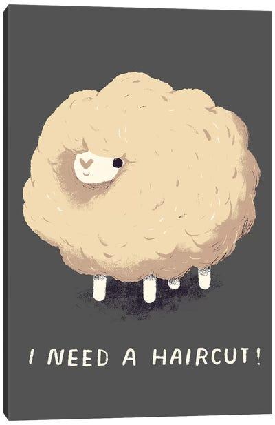 Sheep Canvas Art Print