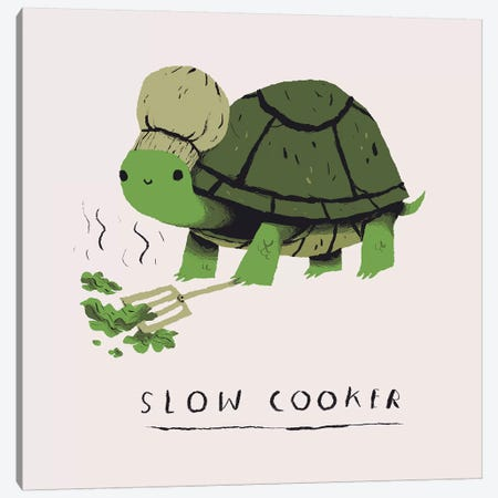 Slow Cooker Canvas Print #LRO63} by Louis Roskosch Art Print
