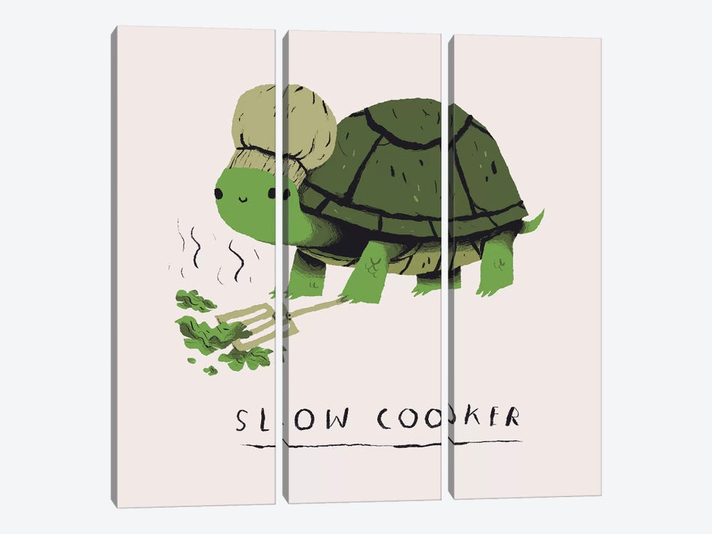 Slow Cooker by Louis Roskosch 3-piece Canvas Print