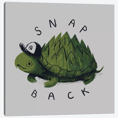 Snap Back Canvas Print #LRO64} by Louis Roskosch Canvas Artwork