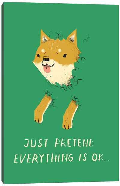 Bush Doge Canvas Art Print