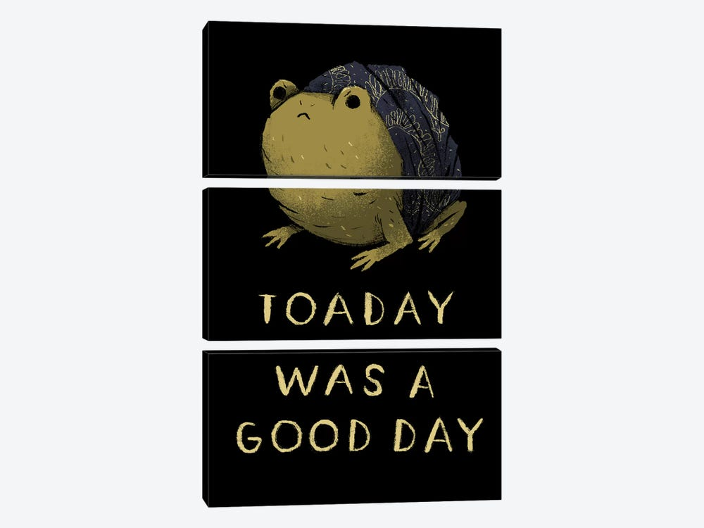 Toaday by Louis Roskosch 3-piece Canvas Print