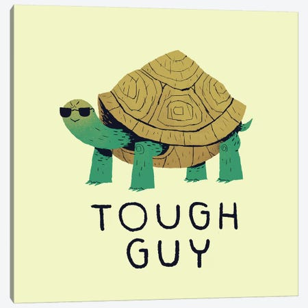 Tough Guy Canvas Print #LRO73} by Louis Roskosch Canvas Art