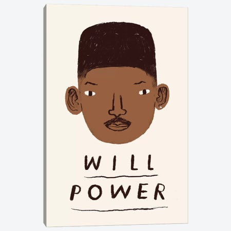 Will Power Canvas Print #LRO77} by Louis Roskosch Art Print