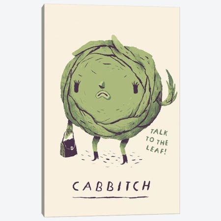 Cabbitch Canvas Print #LRO7} by Louis Roskosch Canvas Art Print