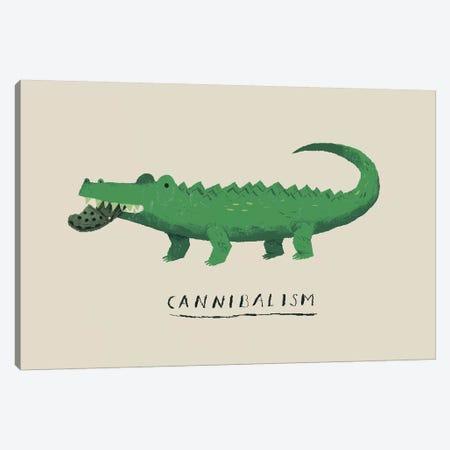 Cannibal Croc Canvas Print #LRO8} by Louis Roskosch Canvas Wall Art