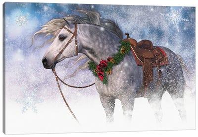 Snowy Christmas I Canvas Art Print