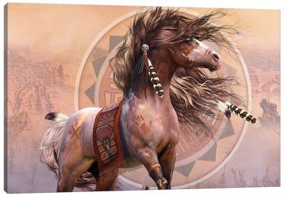 Spirit Warrior Canvas Art Print