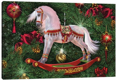 The Magic Of Christmas Canvas Art Print