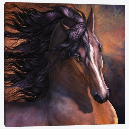 Untamed Canvas Print #LRP144} by Laurie Prindle Canvas Art Print