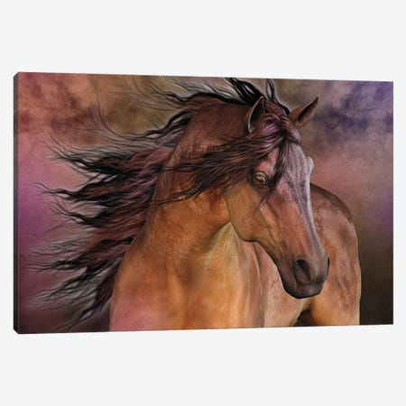 Belleza Fiero Canvas Print #LRP6} by Laurie Prindle Canvas Print
